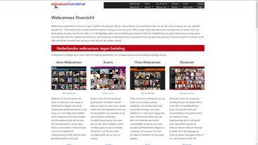Webcamsex overzicht